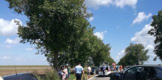 Accident rutier între localitățile Amzacea si Topraisar
