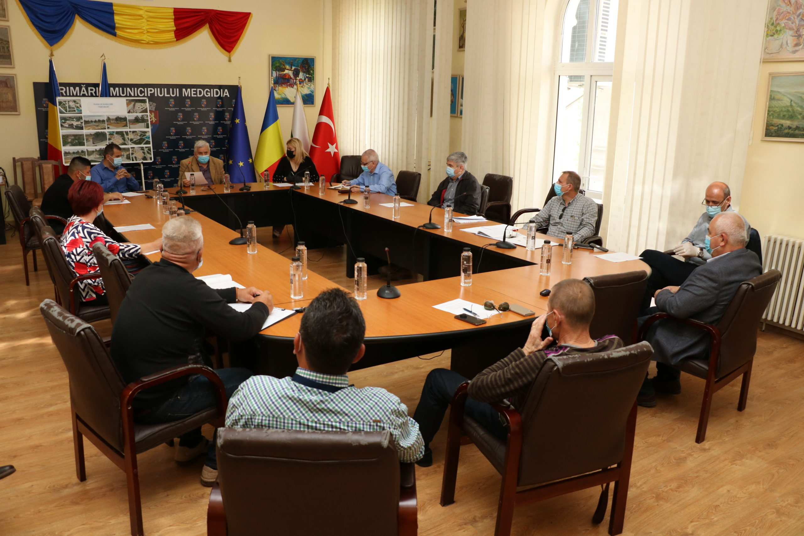 Ședință Consiliu Local Medgidia