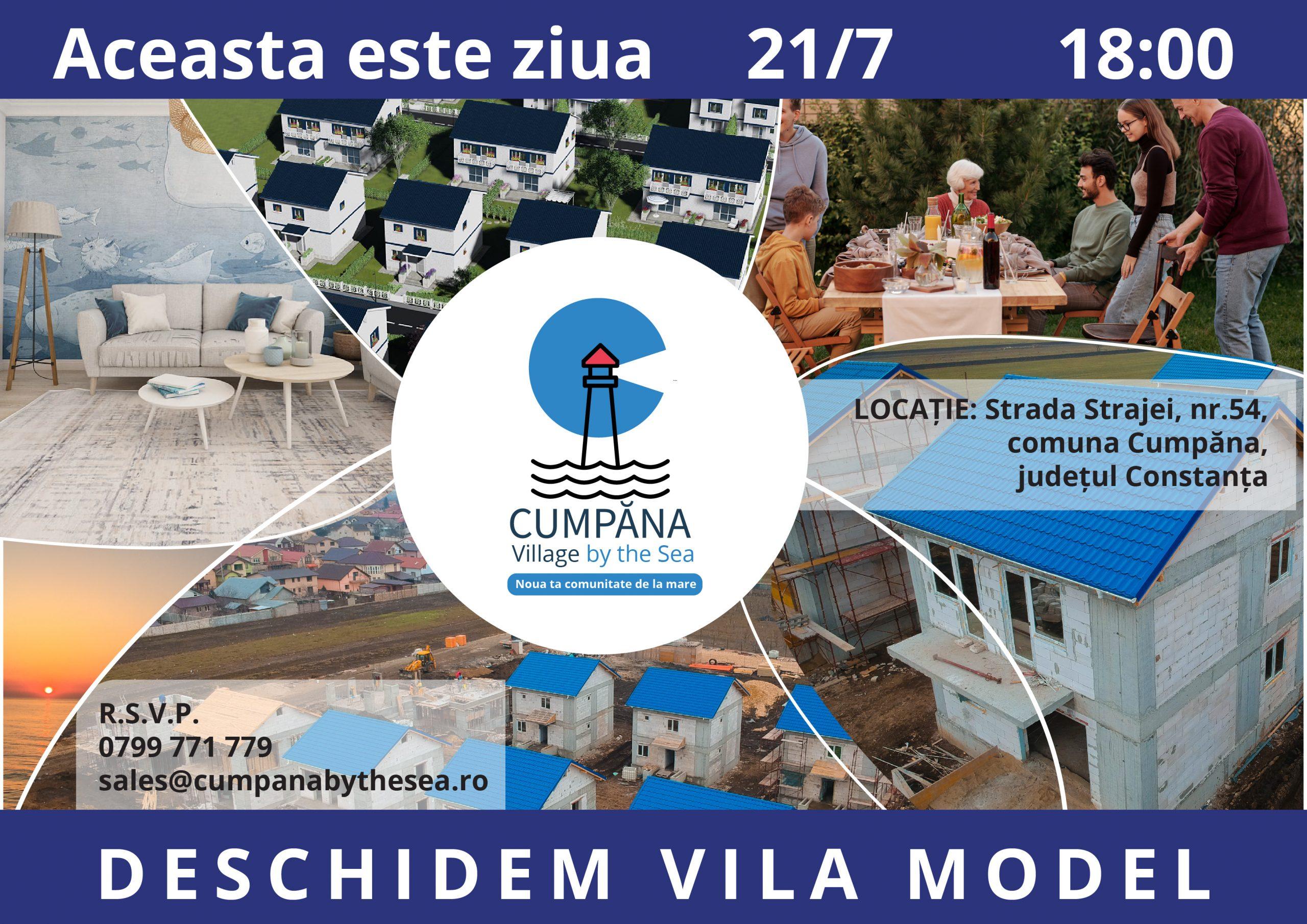 Cumpăna Village by the Sea